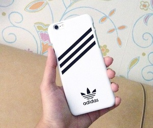 adidas, iphone, and phone case image