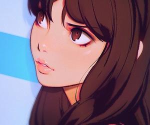 art, anime, and cartoon image
