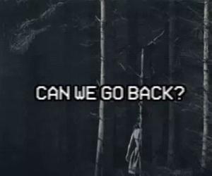 back, dark, and sad image
