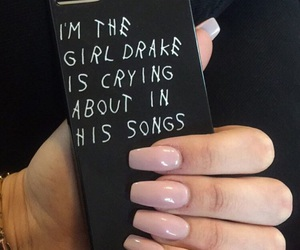 Drake, nails, and case image