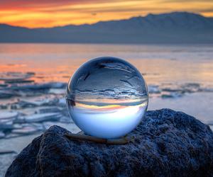 ball, cool, and crystal ball image