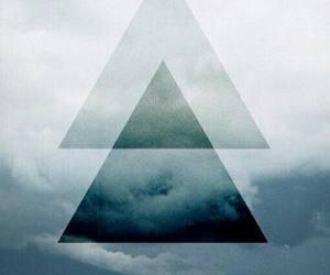 hipster, wallpaper, and triangle image