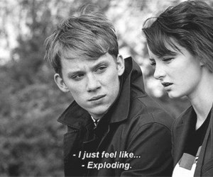 skins, quote, and franky image
