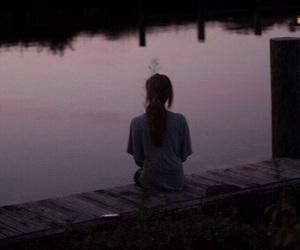 lake and pink image