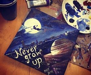 peter pan, art, and never grow up image