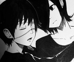 tokyo ghoul, cute, and love image