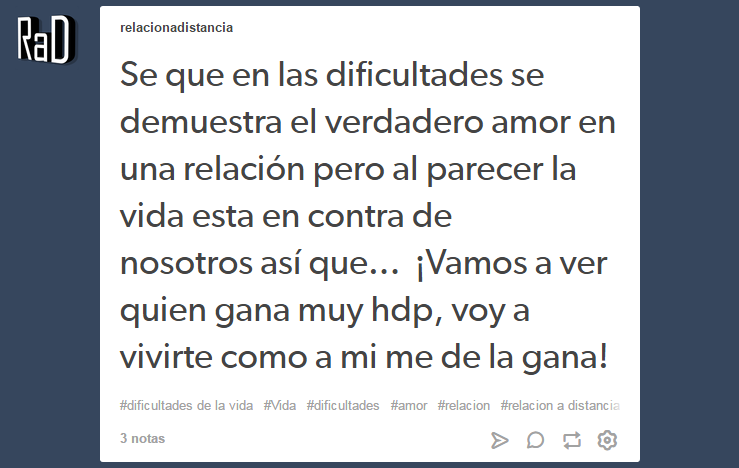 Find Tumblr Images Shared By Relación A Distancia