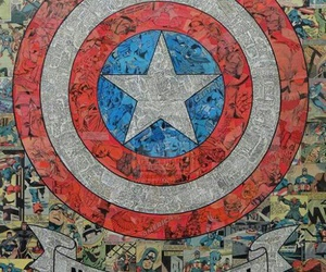 wallpaper, captain america, and Marvel image