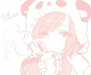 dibujo, ilustracion, and panda image