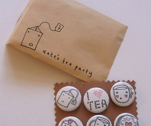 buttons and tea image