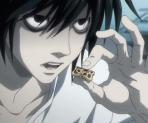 L, death note, and lawliet image