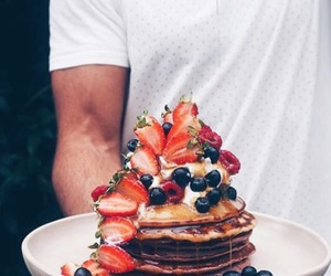 pancakes and vegan image