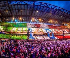 one direction, milan, and San Siro image