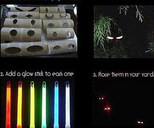 diy, Halloween, and eyes image