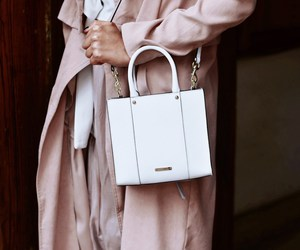bag, white, and Rebecca Minkoff image