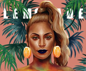 beyoncé, lemonade, and art image