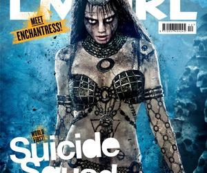 enchantress, suicide squad, and cara delevingne image