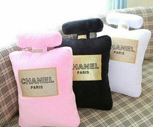 chanel, fashion, and pillow image