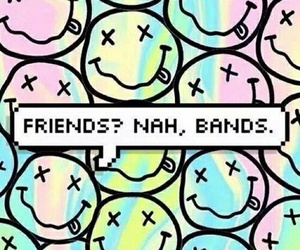 band, nirvana, and friends image