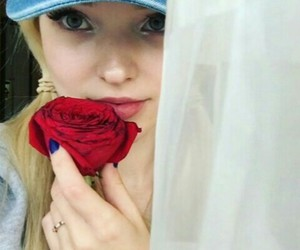 beauty, girl, and dove cameron image