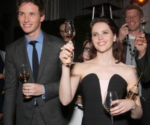 Felicity Jones and eddie redmayne image