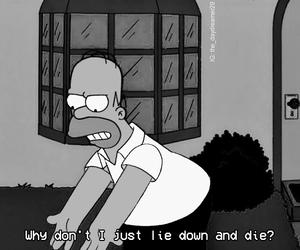 die and sad image
