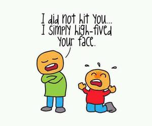 funny, lol, and high five image
