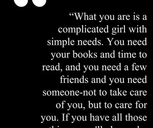 girl, quote, and book image
