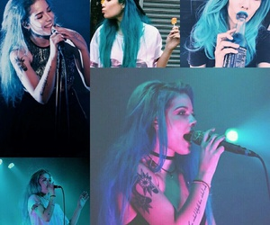 blue, blue hair, and colors image