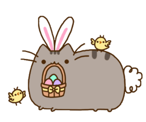 easter, pusheen, and cat image