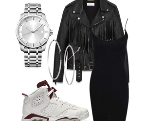 black, night out, and outfits image
