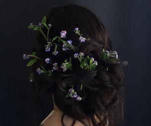 fashion, beautiful, and flowers image