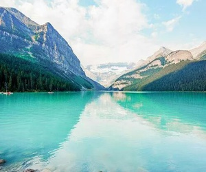 travel, mountains, and water image