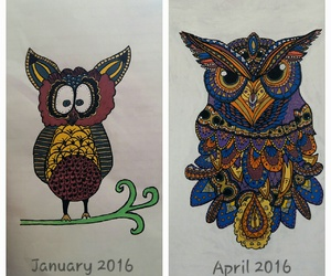 color, doodle, and improvement image