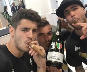 Juventus, stefano sturaro, and alvaro morata image