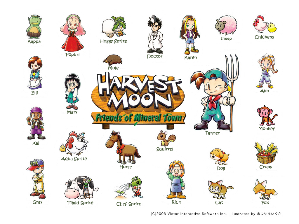 Harvest Moon Animal Parade Guide Book
