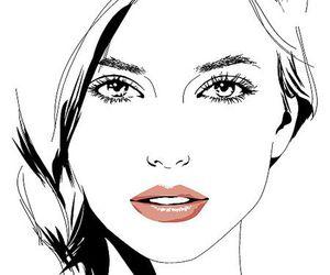 girl and drawing image