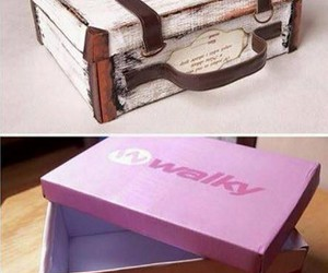 recycled shoe boxes, repurpose shoe boxes, and reuse shoe boxes image