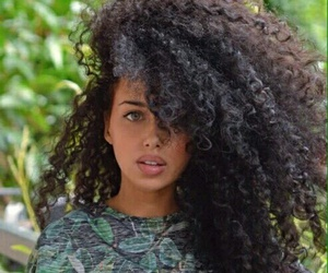 curly, beautiful, and beauty image