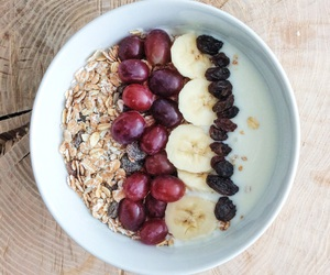banana, breakfast, and fit image