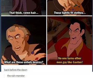 funny, gaston, and awesome image
