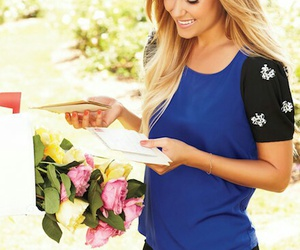 blue, lauren conrad, and lovely image