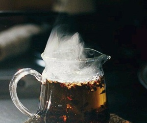 tea, drink, and Hot image