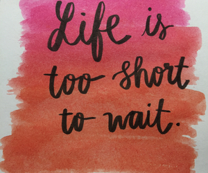 calligraphy, lettering, and quotes about life image