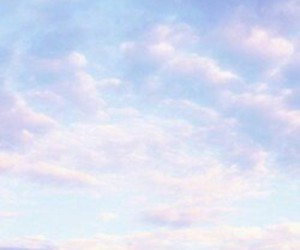 aesthetic, clouds, and pastel image