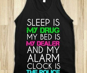 drug, fashion, and sleep image