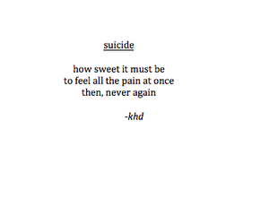 suicide, sad, and pain image