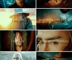 i see fire, the hobbit, and ed sheeran image