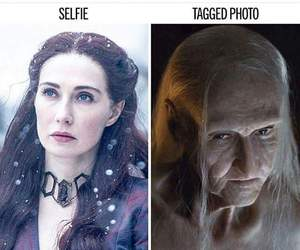 game of thrones, melisandre, and got image