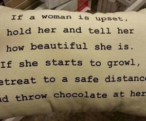 pillow, funny, and chocolate image